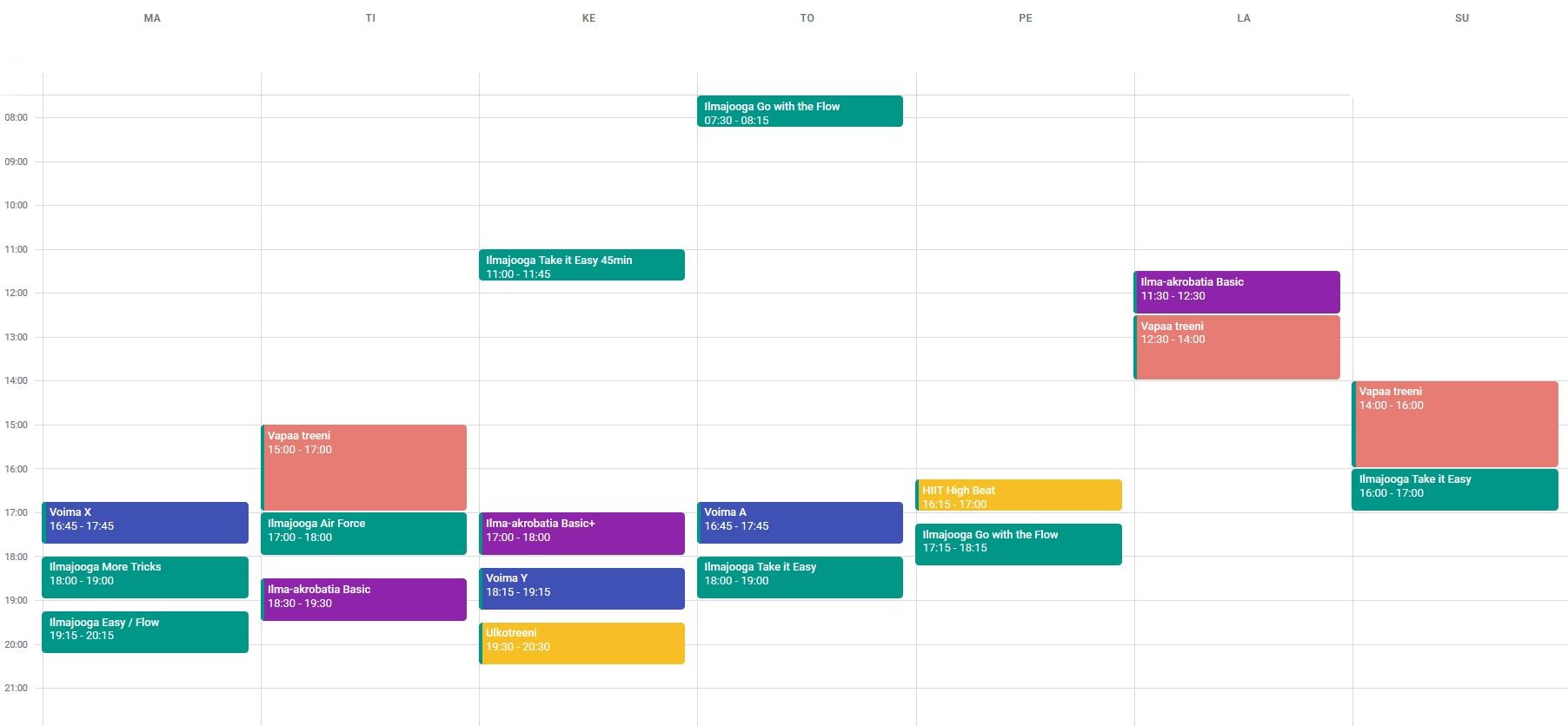 Viikkokalenteri